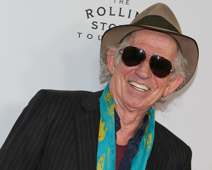 Keith Richards is donating some of his possessions to help raise funds for charities that support disabled adults.