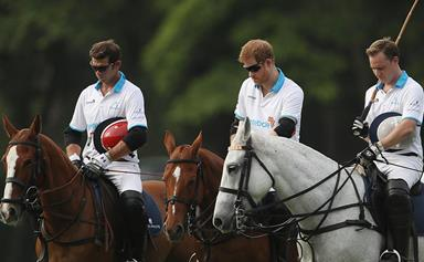 Prince Harry remembers London attack victims in moment of silence before polo