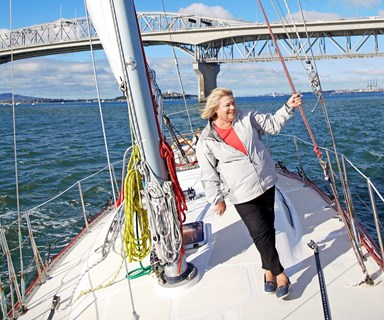 Sailing legend Penny Whiting's end of an era