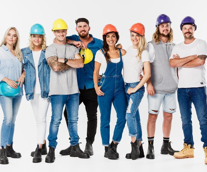 The Block NZ contestants