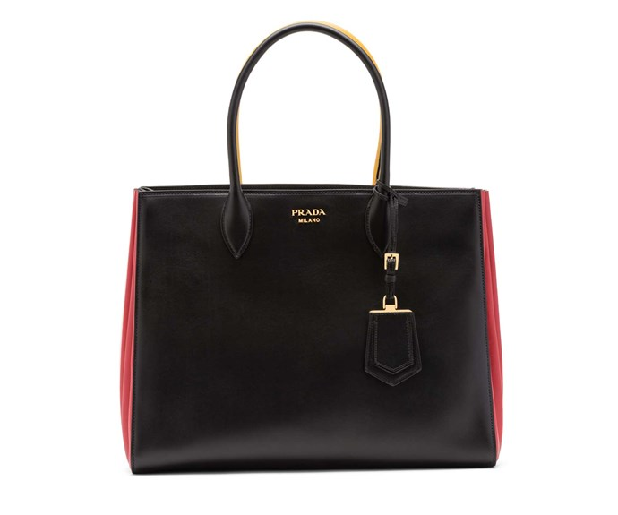 Bag, $4,900, by Prada.