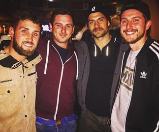 Henry Cavill, Simon Pegg join Tom Cruise in New Zealand