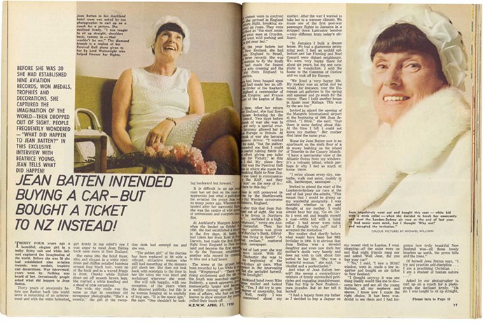 From the *New Zealand Woman's Weekly* archives.