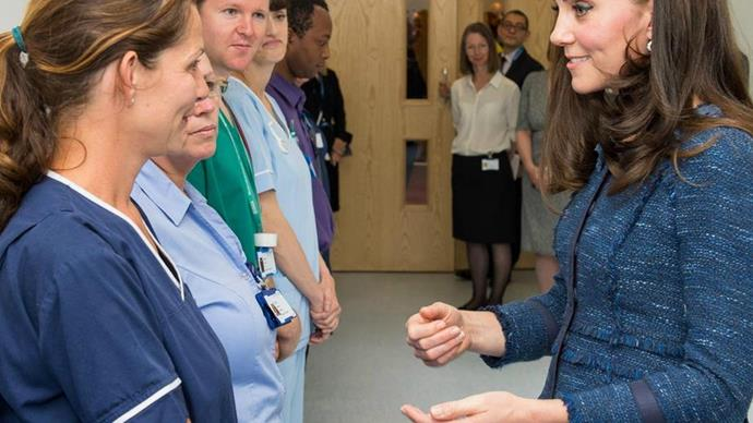 Duchess of Cambridge Kate Middleton visits London hospital after terror attacks