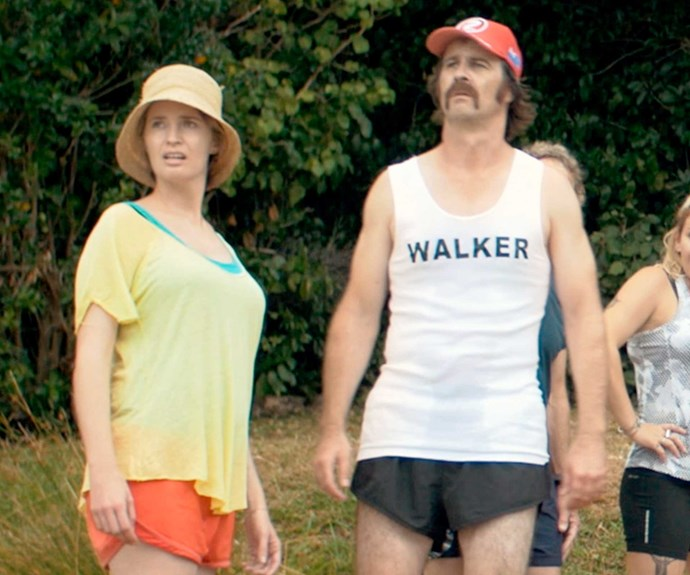 Unrecognisable! The star couple in Daryl: An Outward Bound Story.