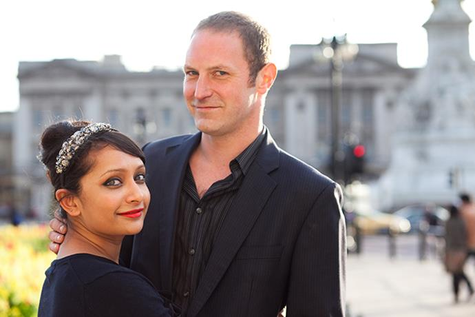 Poorna and Rob.