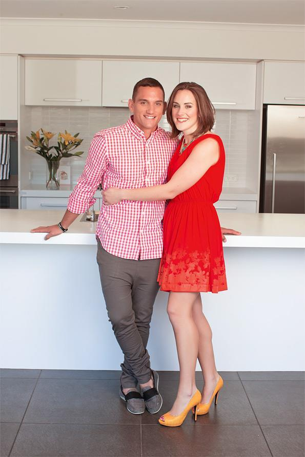 "**Aaron Cruden** and his wife, sports teacher **Grace King**, tied the knot in a fairytale ceremony in 2014. The couple met when they were just 18 years old and have been going strong ever since, with Grace supporting Aaron through his battle with testicular cancer in 2008. ""The support and love she showed me when I was sick made me realise I had found a real keeper. I realised she was just as beautiful on the inside as she is on the out,"" Aaron told *Woman's Day* of his gorgeous wife."