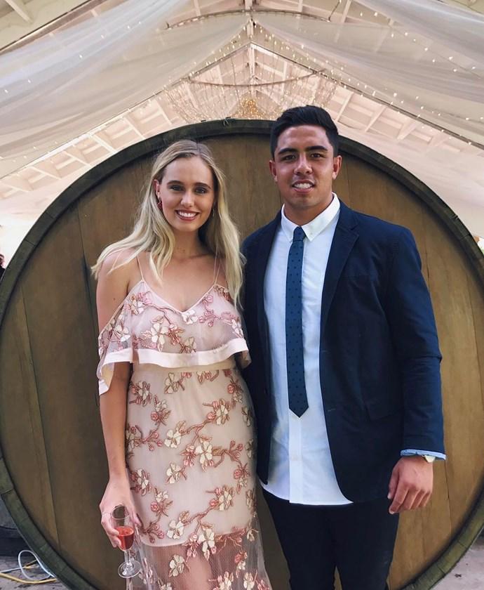 **Anton Lienert-Brown** and his girlfriend **Isabella Stone**.