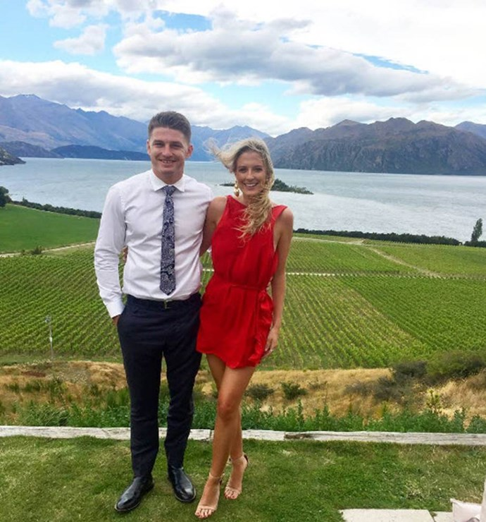 **Beauden Barrett** and his girlfriend, social media influencer and tax specialist **Hannah Laity**, regularly share photos of their adventures together on Instagram.