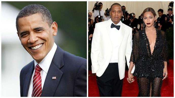 Did Obama just accidentally reveal the sex of Beyonce's twins?
