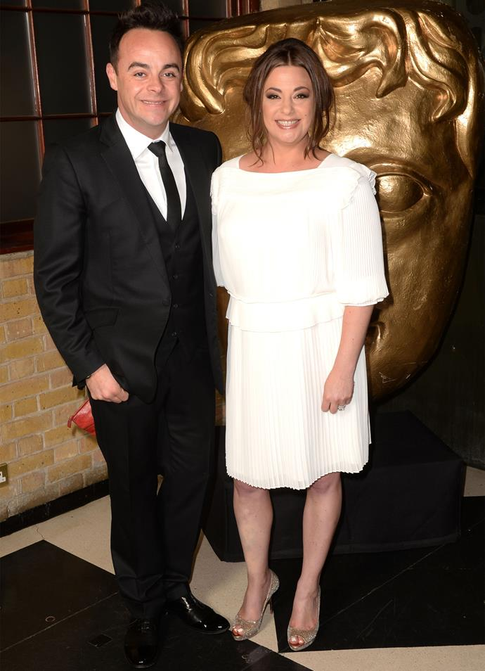 Ant and his wife Lisa at a BAFTA event.