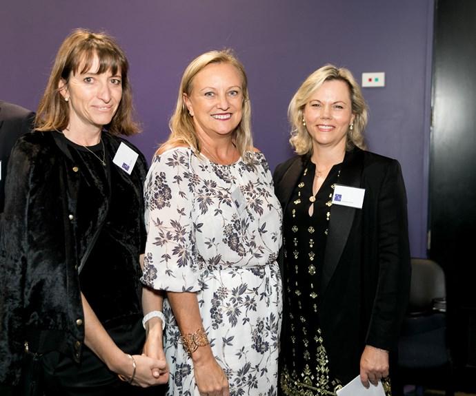 Lizzie Ross, Sue Dickson, Suzanne Smith