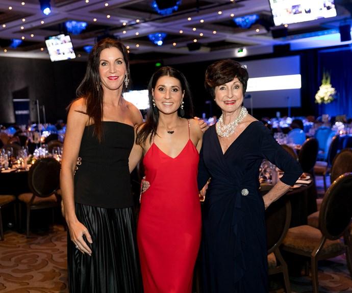 Kelly O'Shannessey, Tanya Robertson, Di Goldsworthy