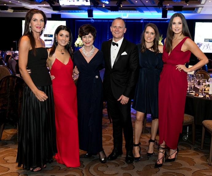 Kelly O'Shannessey, Tanya Robertson, Di Goldsworthy, Mark Knoff-Thomas, Portia Campbell, Zara Overton