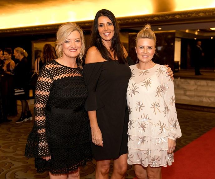 Chrissy Conyngham, Di Simpson, Ingrid Raven