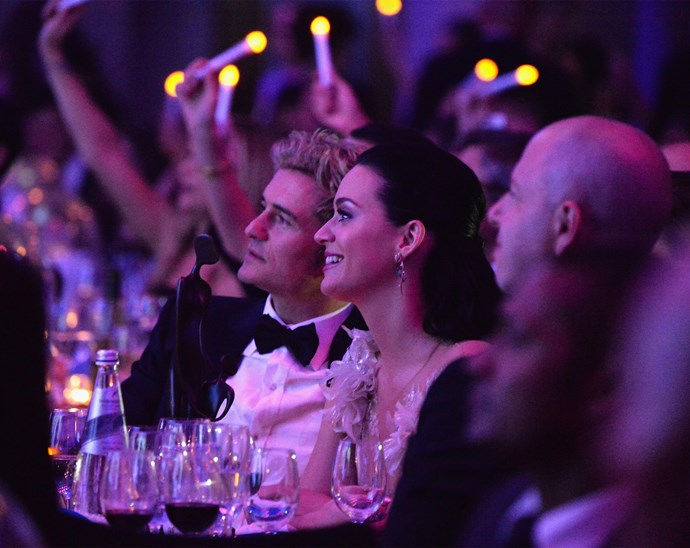 The couple - pictured here at a charity gala event - split in March this year.