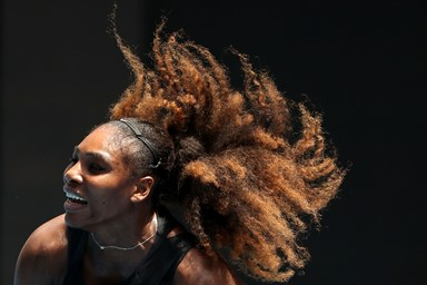 Serena Williams poses nude for Vanity Fair in her first pregnancy shoot