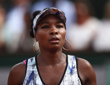 Venus Williams opens for the first time up on fatal car accident