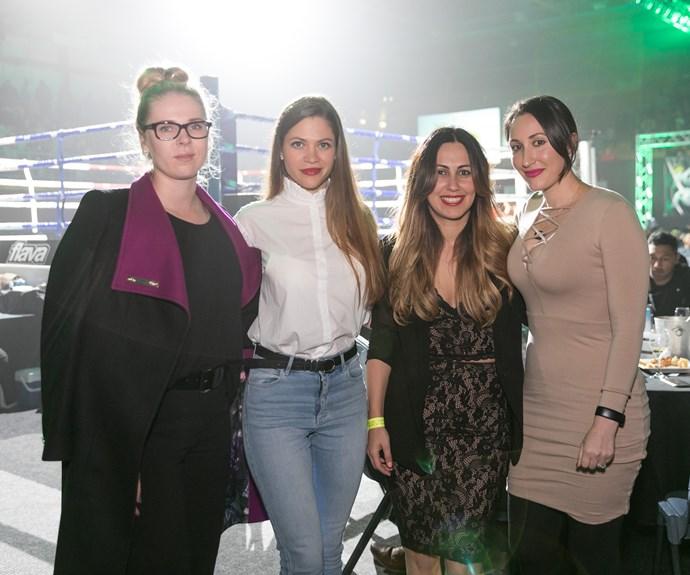 Genia Znarok, Katrina Bozhenko, Zarina Bazoeva, Olya Sokhieva