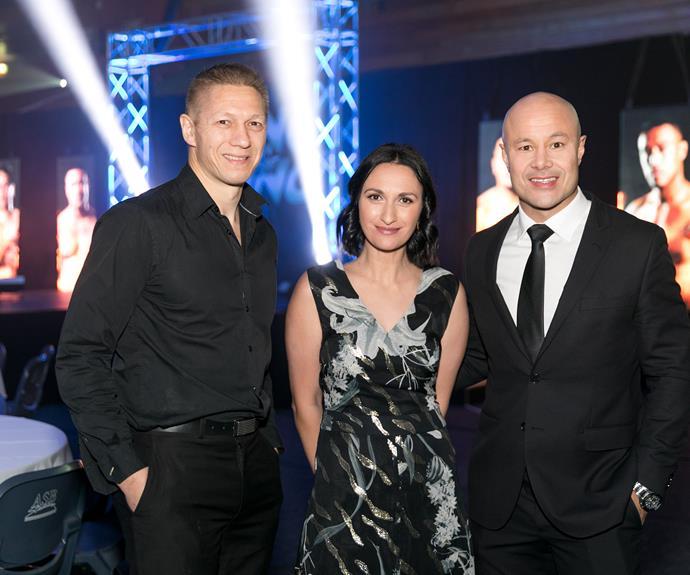 Mike Angove, Kara Rickard, Monty Betham