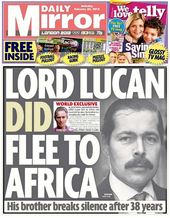 Alleged sightings of the runaway lord continued all over the world for decades.