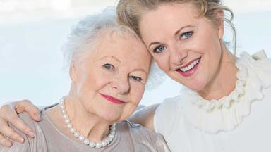 At home with Dame Kate Harcourt and daughter Miranda