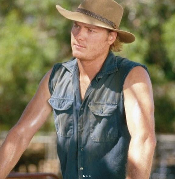 **Then: Myles Pollard** Nick Ryan and Tess had a firey, on again, off again relationship on Drover's, and eventually married. He was thought to be dead after a plane crash, but actually just suffered amnesia. He and Tess eventually moved to Argentina.