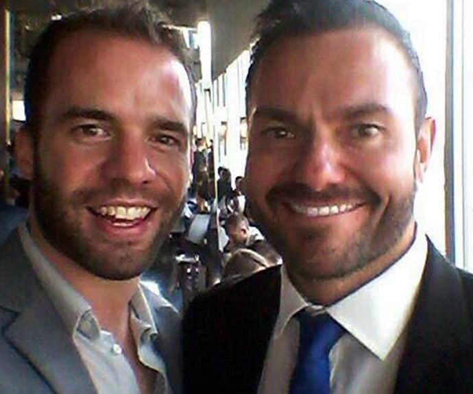 Phil Adlem, left, and Jonathan Sammons. Photo: Facebook