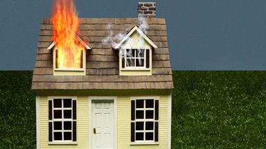 How to escape a house fire