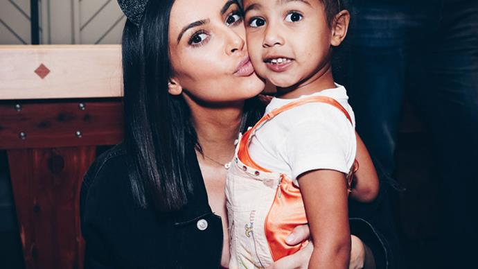 Kim Kardashian faces backlash over North West corset dress