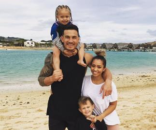 Sonny Bill Williams' fun family Fiji holiday