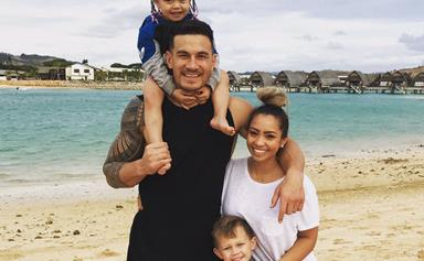 Sonny Bill Williams' fun family Fiji holiday in pictures
