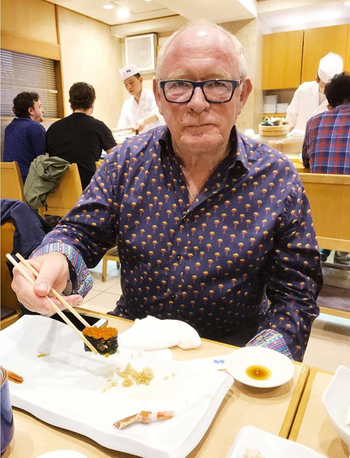 You can't go to Japan and not sample the sushi.