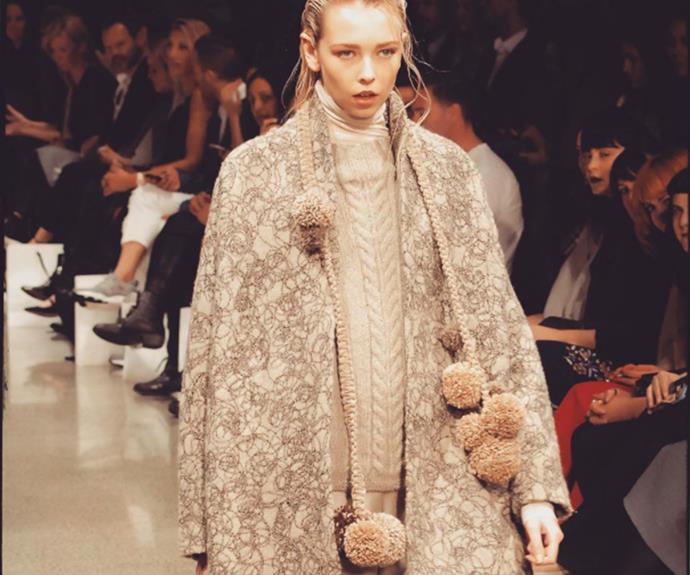 Liz Mitchell, wool