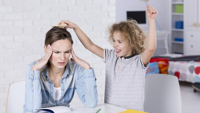 One mum's parenting trick to stop her kids from interrupting