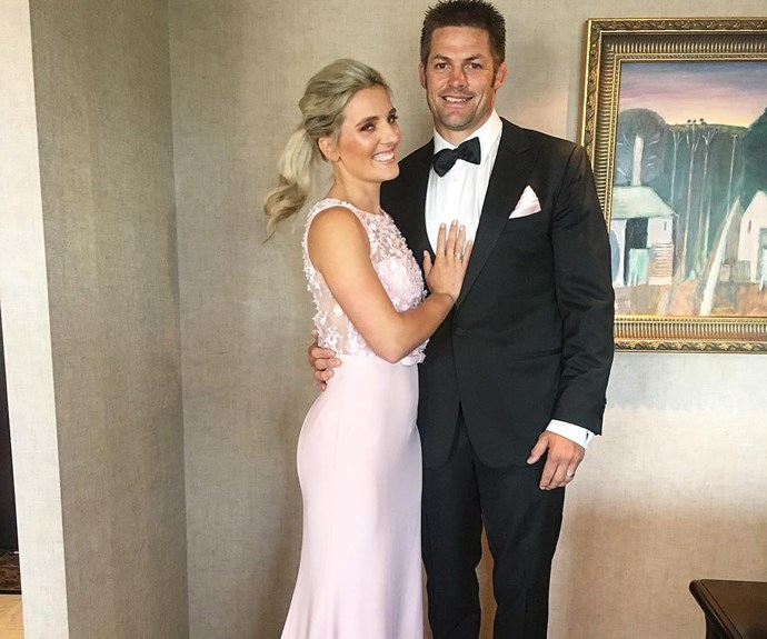 Richie and Gemma McCaw