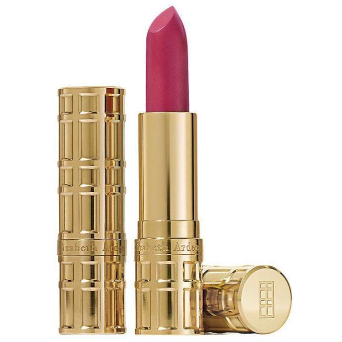 **Elizabeth Arden Lipstick**  Queen Elizabeth is hardly ever spotted out without a swipe of lipstick on, and over the years she's even got custom colours made. But, there is one brand that has the Royal Warrant, and that's Elizabeth Arden. In fact, back in 2012, Elizabeth Arden marked it's 50th anniversary for holding the Royal seal of approval.