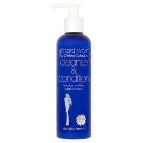 **Richard Ward Chelsea Cleanse & Condition**  Richard Ward is the genius behind Kate's luscious, glossy mane. He cuts her hair and gives her his trusted advice on which products to use. Rumour has it that his shampoo is what helps Kate keep her hair in tip-top condition. No wonder it's a sell-out product.