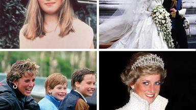 Princess Diana: Her life in pictures