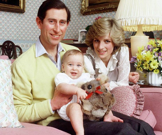 We see so much of Prince George in his dad, William.