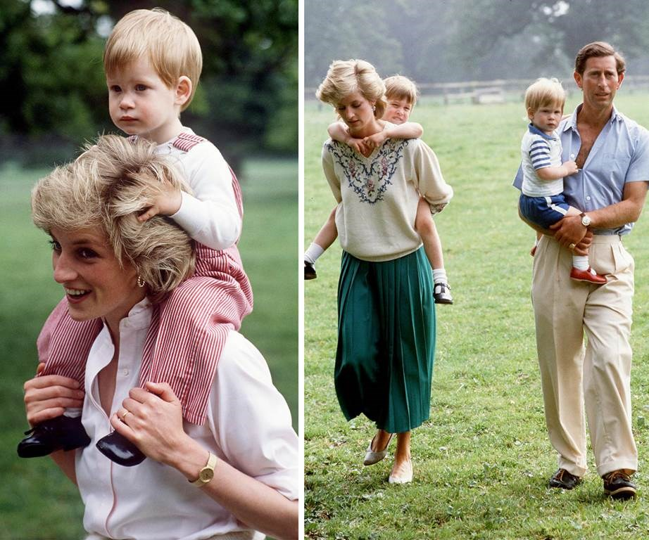 Diana loved her two boys more than anything.