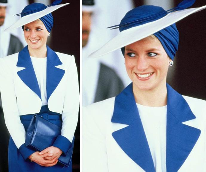 Diana was a chameleon of beauty, often changing up her style and look with ease.
