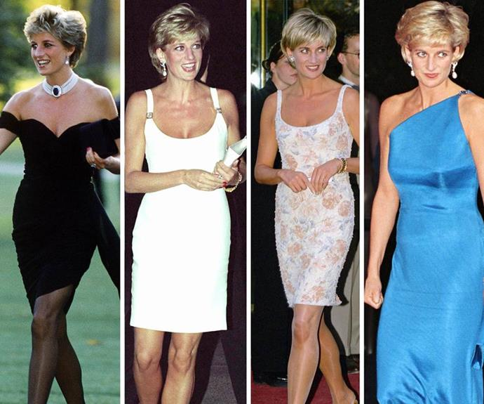 Diana really came into her sense of style, oozing confidence no matter what ensemble she was wearing.