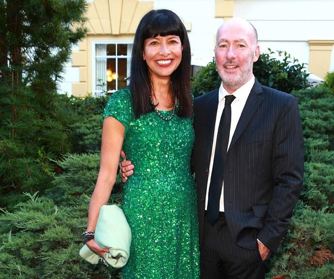 Carol and her husband, journalist Finlay MacDonald.