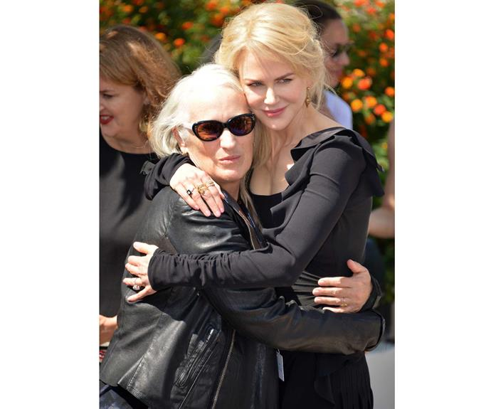 With Nicole Kidman at Cannes 2017.
