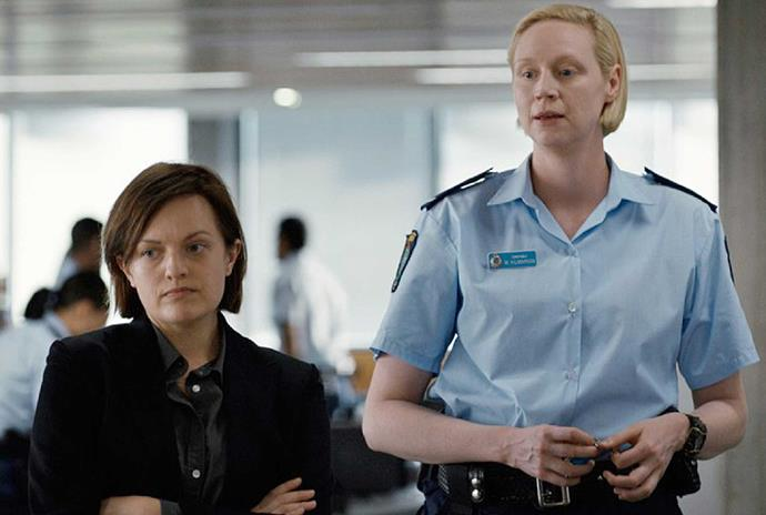 Elisabeth Moss, Gwendoline Christie in *Top of the Lake: China Girl*.