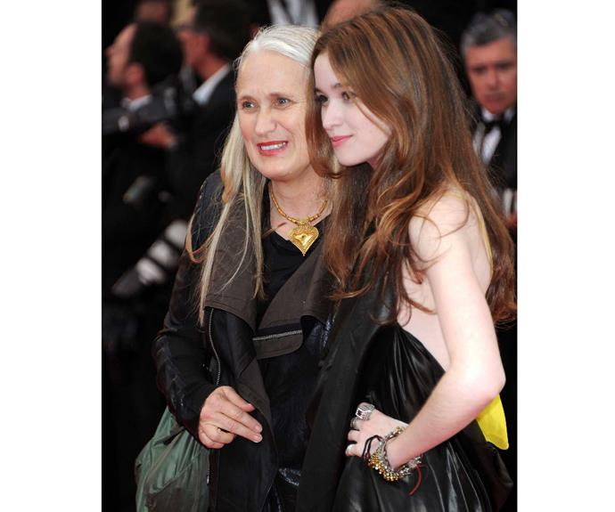 The film-maker and her actress daughter, Top of the Lake star Alice Englert.
