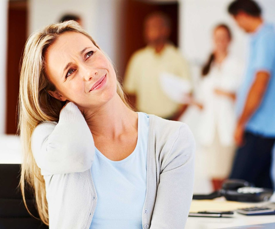 Neglected postures invite all kinds of chronic neck and back pain. *(Image: Getty)*