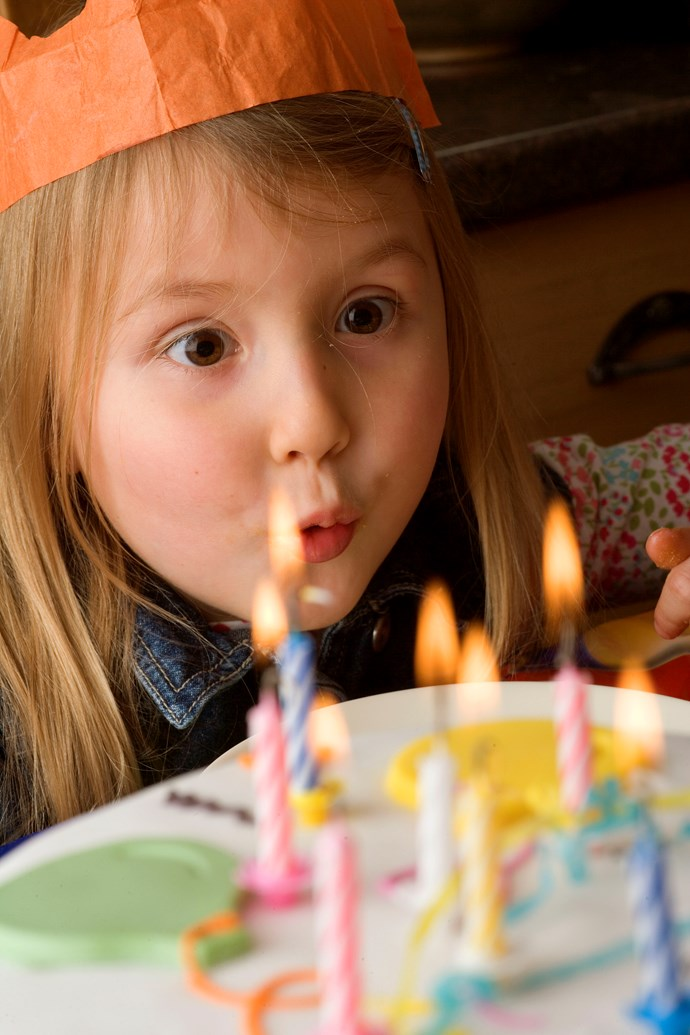 Blowing out candles leaves birthday cakes bacteria-ridden