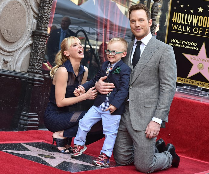 The couple welcomed their son Jack in 2012. Photo: Getty